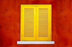 Gesloten venster Royalty-vrije Stock Afbeeldingen