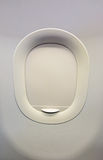 Gesloten Vliegtuigvenster Royalty-vrije Stock Fotografie