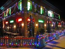Gesloten voor Kerstmis Stock Foto