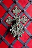 Gesmede deurknop Stock Fotografie