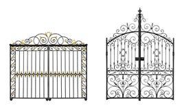 Gesmede poorten Royalty-vrije Stock Afbeelding