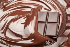 Gesmolten chocolade Royalty-vrije Stock Fotografie