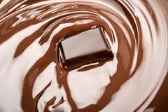 Gesmolten chocolade Royalty-vrije Stock Afbeelding