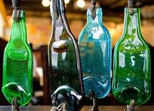 Gesmolten flessen Royalty-vrije Stock Afbeeldingen