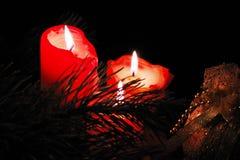 Gesmolten kaarsen Stock Afbeelding
