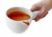 Gesmolten karamelkom Stock Afbeelding