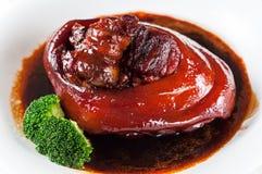 Gesmoord varkensvleesbeen Royalty-vrije Stock Foto's