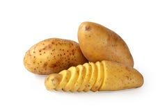 Gesneden aardappels Stock Fotografie