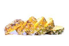 Gesneden ananas Stock Foto's