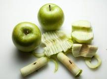 Gesneden appelen Royalty-vrije Stock Fotografie