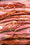 Gesneden Bacon Stock Foto