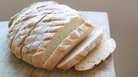 Gesneden baguette of gesneden brood Stock Afbeeldingen