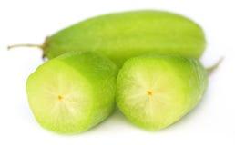 Gesneden Bilimbi-vruchten stock foto