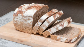 Gesneden brood Stock Foto