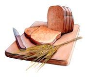 Gesneden brood vector illustratie