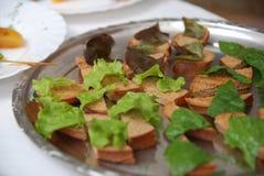Gesneden brood met gehechtheid Royalty-vrije Stock Afbeelding
