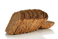 Gesneden broodbrood, volkorenmeel, stock fotografie
