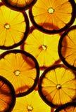 Gesneden citroen Stock Foto's