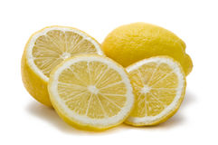 Gesneden citroenen Stock Fotografie