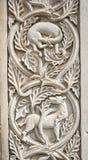 Gesneden fragment van steen royalty-vrije stock foto