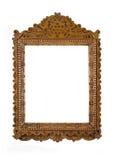 Gesneden Frame voor beeld of portret over wit stock fotografie