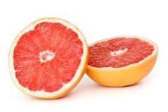 Gesneden grapefruit Royalty-vrije Stock Foto