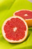 Gesneden Grapefruit Stock Foto