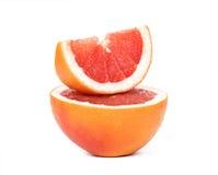 Gesneden Grapefruit Stock Fotografie