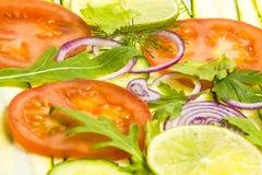 Gesneden groente Royalty-vrije Stock Afbeeldingen