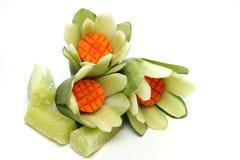 Gesneden groenten het art. Royalty-vrije Stock Afbeelding