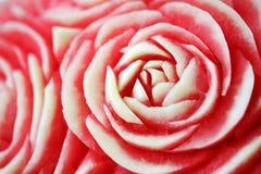 Gesneden het detail van de watermeloen Stock Afbeeldingen