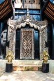 Gesneden houten Stock Fotografie
