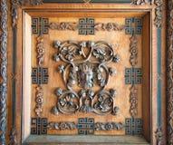 Gesneden Houten Comités - Palermo Royalty-vrije Stock Foto's