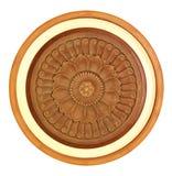 Gesneden houten detail Stock Afbeeldingen