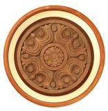Gesneden houten detail Royalty-vrije Stock Foto's