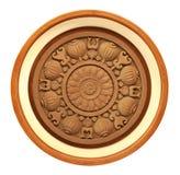 Gesneden houten detail Royalty-vrije Stock Afbeeldingen