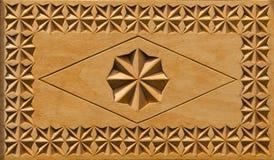 Gesneden houten doosachtergrond stock afbeeldingen