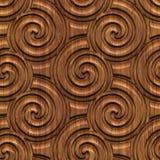 Gesneden houten naadloze textuur stock illustratie