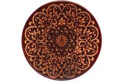 Gesneden houten plaat. Royalty-vrije Stock Foto