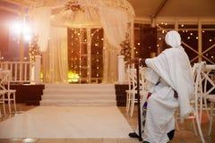 Gesneden huwelijk hupah royalty-vrije stock afbeelding