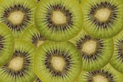 Gesneden Kiwi Royalty-vrije Stock Foto's