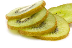 Gesneden kiwifruit. Stock Foto