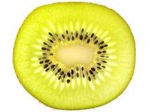 Gesneden kiwifruit Royalty-vrije Stock Afbeeldingen