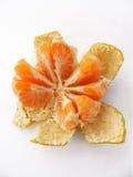 Gesneden mandarin †‹â€ ‹beelden voor originele ontwerpen Stock Fotografie