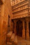 Gesneden muren van Jaisalmer-Fort Royalty-vrije Stock Afbeeldingen