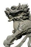 Gesneden oosterse draak Royalty-vrije Stock Afbeeldingen