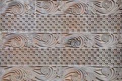 Gesneden patroon van bloem Royalty-vrije Stock Foto