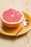 Gesneden rode grapefruit Stock Foto