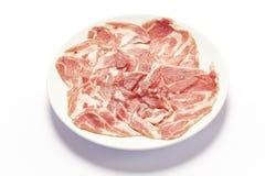 Gesneden rundvlees Royalty-vrije Stock Afbeelding