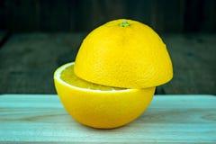 Gesneden Sinaasappel Stock Foto's